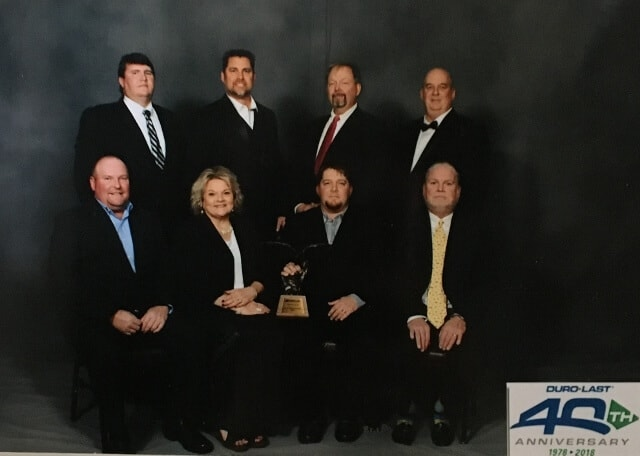 BM Roofing Contractors Honored Duro-Last Chairman's Award